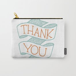 Thank You (colour version) Carry-All Pouch