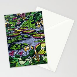 Garden 3 Stationery Cards