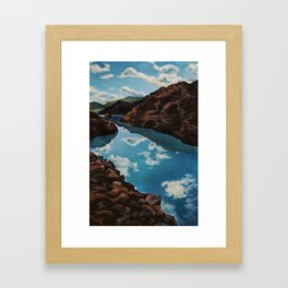 Clear Waters Framed Art Print