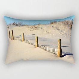 Dunes of Assateague Rectangular Pillow