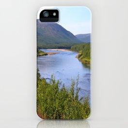 River Landscape iPhone Case
