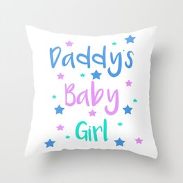 Daddy s Baby Girl Brat Little DDLG Ageplay Throw Pillow