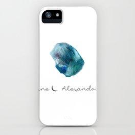 june alexandrite iPhone Case