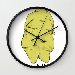 Everyone Is Objectified Wall Clock