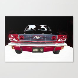 Vintage Mustang Classic Car Canvas Print