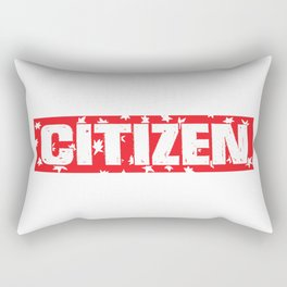 citizen Rectangular Pillow