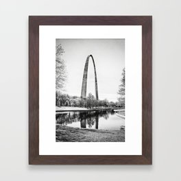 The St. Louis Arch Framed Art Print