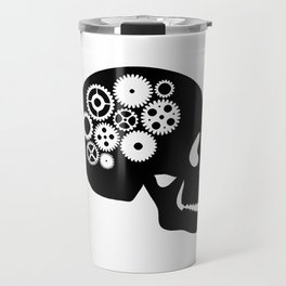 Steampunk - Skull Travel Mug