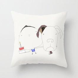 Pet birthday Throw Pillow
