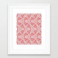 zelda Framed Art Prints featuring Zelda by Heather Dutton