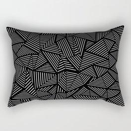 Abstraction Linear Rectangular Pillow