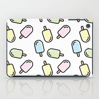 popsicle iPad Cases featuring Popsicle by Ariadna Macías