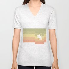 Out At Sea Series - Sideways and Crabby Unisex V-Neck