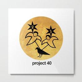 Project 40 Metal Print