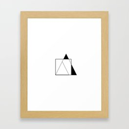 Everydaygeometric -Day Eleven -  Framed Art Print
