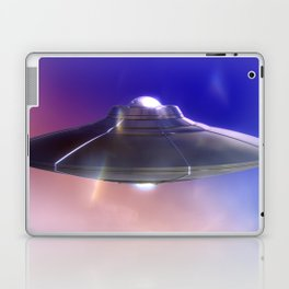 Retro Flying Saucer Laptop & iPad Skin