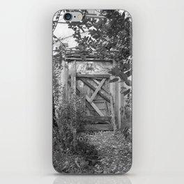 "Door to the deep down ""LIME"" iPhone Skin"