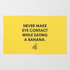 Eating a Banana Rug
