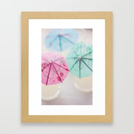 Vacation Colors Framed Art Print