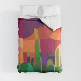 Botanical Wonderland - Cactus Garden Bybrije Comforters