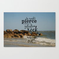 pierce the veil Canvas Prints featuring Pierce by KimberosePhotography