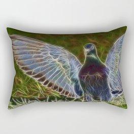 Pigeon Spirit Rectangular Pillow