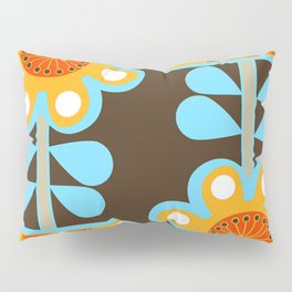 swedish flowers Pillow Sham