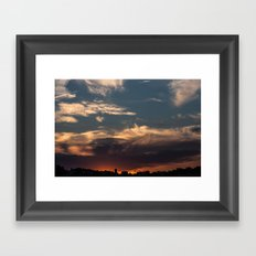 Lyon Sky  Framed Art Print