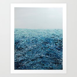 Saline Waters Art Print