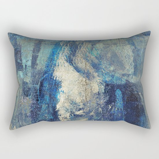 Night Horse Rectangular Pillow