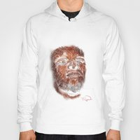 mike wrobel Hoodies featuring Mike Brown  by Tazmatic