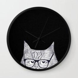 Intelligent cat Wall Clock