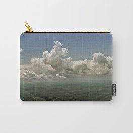 Mid hudson Valley new york state view from the air clouds landscape  Carry-All Pouch