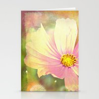 cosmos Stationery Cards featuring Cosmos by V. Sanderson / Chickens in the Trees