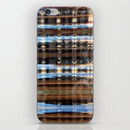 Reflective Plaid iPhone Skin