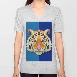 Graphic Tiger Unisex V-Neck