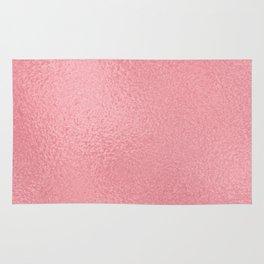 Simply Metallic in Pink Rose Gold Rug