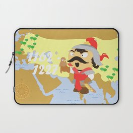 Genghis Khan Laptop Sleeve