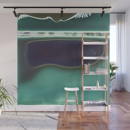 Instant Series: Teal Wall Mural