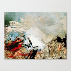 Embouteillage Canvas Print