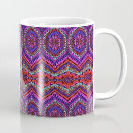 TRIBAL AND ELEPHANT PATTERN Coffee Mug