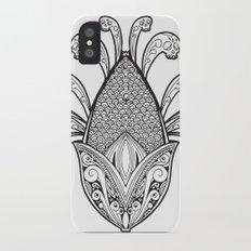 Cincalco art from the exican underworld. iPhone X Slim Case