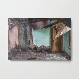 Barkman House, Arena, North Dakota 4 Metal Print