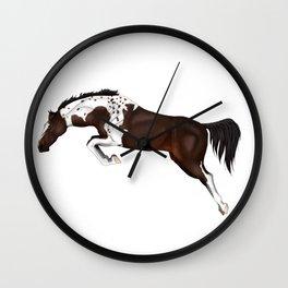Jumping Queen Wall Clock