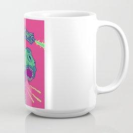 Dinosaur Laser Battle Coffee Mug