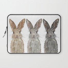 Triple Bunnies Laptop Sleeve