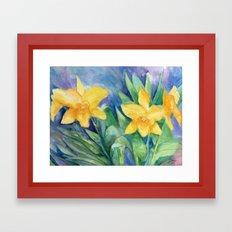 Orchid Sunshine Framed Art Print