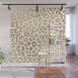 ReaL LeOpard - Greek Ancient Gold Wall Mural