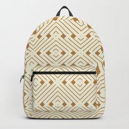 Golden Mazy Backpack