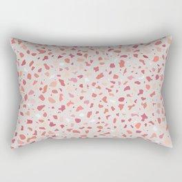 AFE Coral Terrazzo Pattern Rectangular Pillow